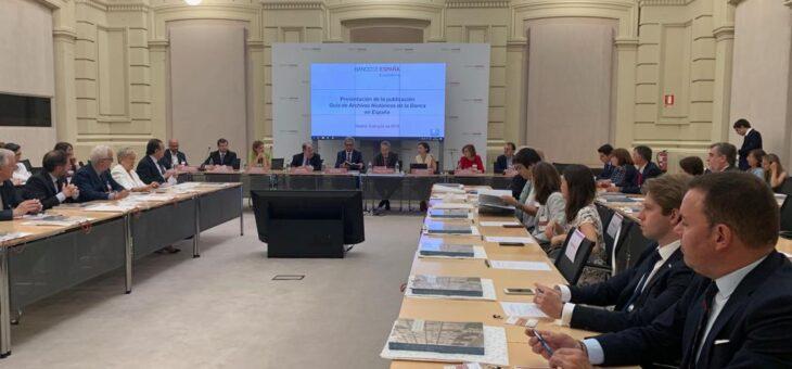 El Archivo Histórico de Fundos recogido en la 'Guía de archivos Históricos de la Banca de España'