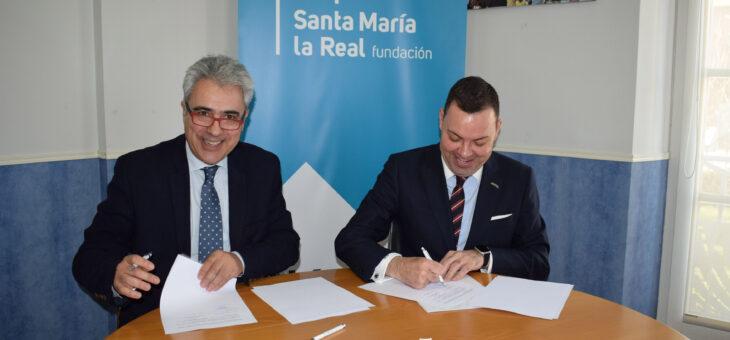 FUNDOS y la Fundación Santa María la Real se unen para colaborar en la realización de actividades de carácter social y cultural