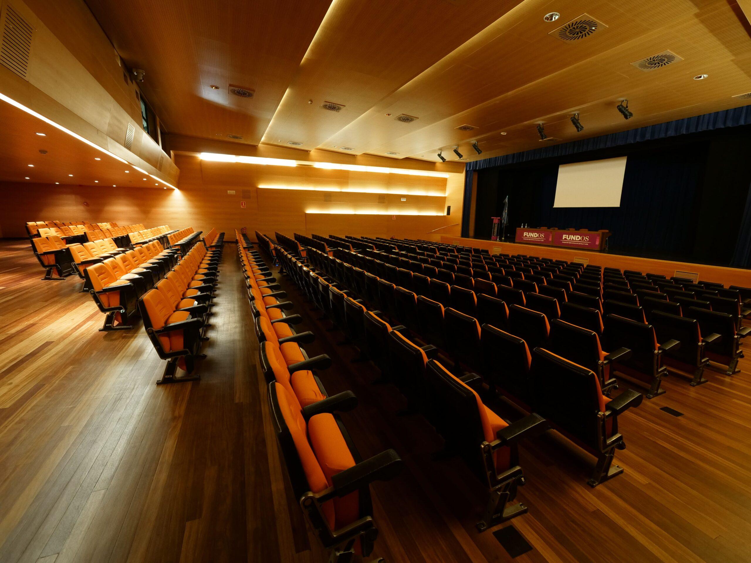 Auditorio FUNDOS Fuente Dorada en Valladolid